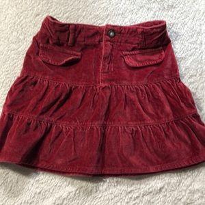 Old Navy velvet skirt